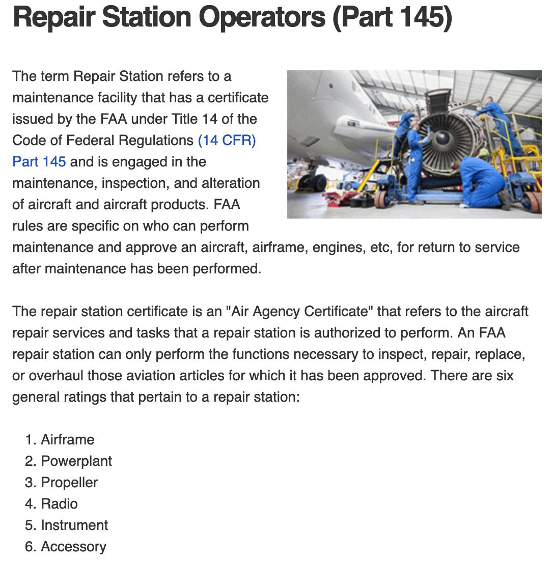 FAA Regulatory Consultant
